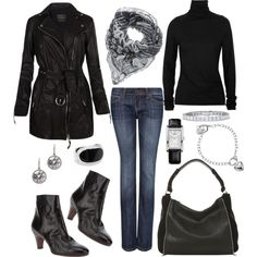 """""""Biker Chic"""" by rothmank on Polyvore"""