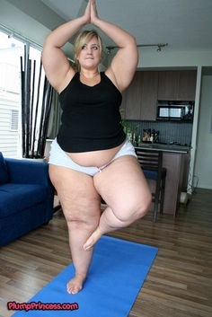 The Plump Princess does Yoga!!