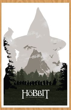 The Hobbit: An Unexpected Journey - love this style!