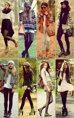 Motivation to get back to pre-pregnancy weight... Cute fall clothes!