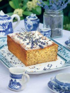 Lemon and Lavender Cake - I can taste it now.