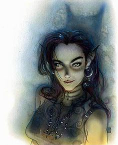 Character from Planescape, by 'Spiderwick' creator Tony DiTerlizzi