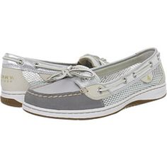 Sperry top sider boat shoe with mesh sides for summer