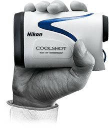 The Nikon Coolshot high-speed ranging system coupled with Nikon's First Target Priority Mode enables quick measurement of the distance to the flag/object without any problem thanks to the industry's unique 8-second continuous scanning function with one push of the button.
