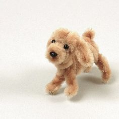 Learn how to make this cute puppy using pipe cleaners! puppi, pipe cleaner
