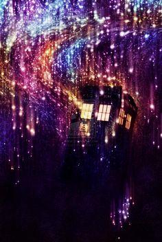 TARDIS Regeneration by ~piggy-tails --beautiful!!!