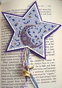 Night Sky Bookmark Cross Stitch free pdf