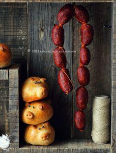 Chorizo pig buns.