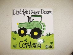 John Deere tractor foot print - there has to be SOME way I can do something for ME like this...