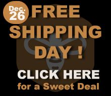 Did you know that today is #FREE shipping day here at #Honeycolony??   That's right, we are shipping your stuff, FREE, all December 26th!  So click here and #Bee inspired by these sweet #deals, http://buff.ly/19qYW07