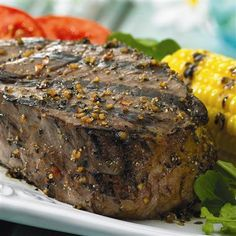 Grilled Montreal Steak: Shake on Grill Mates® Montreal Steak Seasoning, a robust blend of coarsely ground peppers, garlic and spices, for bolder tasting steaks.