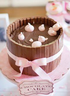Muddy Pig Pen cake — always a classic :)