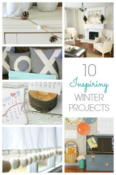 10 Inspiring Winter Projects