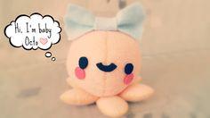 Hapy Friends Shoppe: How To Make A Kawaii Octopus Plushie Tutorial