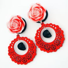 Devilish Dolly Steel Dangle Plugs by glamsquared.com