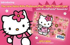 CREDIT CARD HELLO KITTY | Hello Kitty Credit Card | Hello Kitty Hell