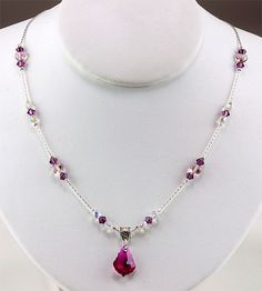 Jewelry Making Idea: Love Always Necklace jewelry making ideas, beauti necklac, jewelri idea, craft idea, handmad jewelri, necklaces, jewelri trend, jewlery making ideas, necklac eebeadscom
