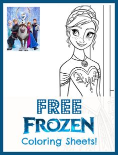 Free Frozen Coloring Sheets. and all the other holidays