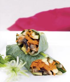 Garden Wraps | Raw Recipes - Easy & Delicious | Raw Food Made Easy with Jennifer Cornbleet