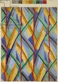 omega workshops fabric design