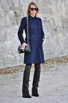 Fall 2012 Outwerwear Street Style - Harper's BAZAAR