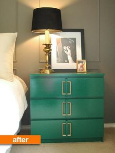 Before & After: Ikea's Malm Made Glam