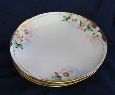 Set of 4 Noritake Nippon 7-3/4 Apple Cherry Wildflower Azalea Blossom Plates US $13.75