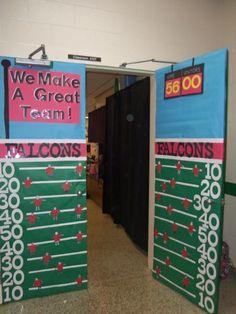 Bulletin Board Idea & Classroom Design Photo