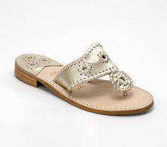 my favorite summer shoes: Platinum Hamptons Navajo