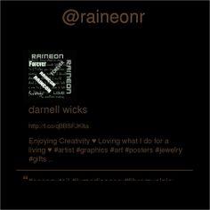 @raineonr's Twitter profile courtesy of @Pinstamatic (http://pinstamatic.com)
