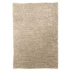 Threshold™ Wool Felted Shag Area Rug - Cream/Tan (7'x10') Fireplace room