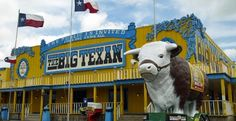 The Big Texan Steak Ranch in Amarillo, Texas © Robyn Beck/AFP/Getty Images