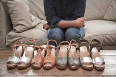 Bryr Clogs: shoes handmade in USA for Jeanne!