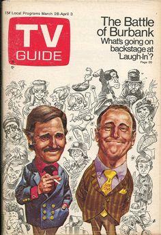 Rowan & Martin's Laugh-In (1968-73, NBC)