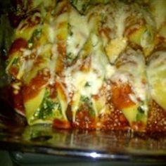 Cheesy Stuffed Shells Allrecipes.com