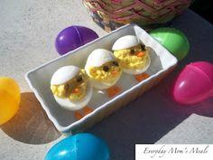 Deviled Egg Chicks - Too cute!
