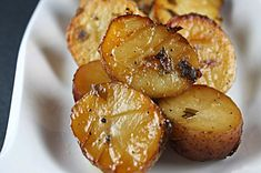 Maple Syrup Caramelized Potatoes