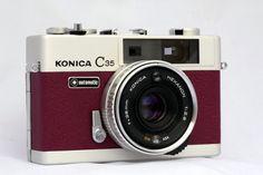 konica c35, c35 automat, refurbish camera, cameras