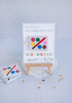 "Armelle Blog: ""colorful"" valentines + printable ..."