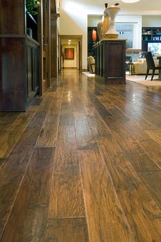 More Pecan wood flooring