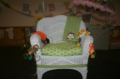 mom to be decorated baby shower chair baby shower pinterest