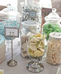 baptism sweets table