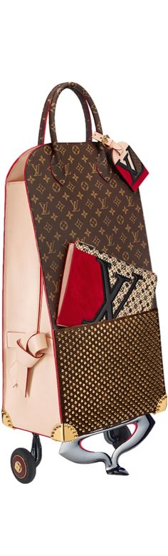 LOUIS VUITTON | Louis Vuitton Icon and Iconoclasts Collection. Shopping Trolley Christian Louboutin