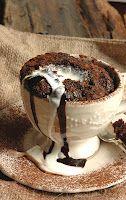 Chocolate Pudding in a mug