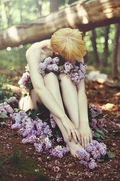 one with the earth, she sleeps by Savannah Daras, via Flickr