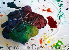 DIY tye dye- such a classic technique
