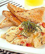 WW Breakfast Bruschetta:  6 servings; 4 points+ per serving
