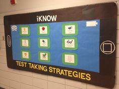 Test Taking Strategies Bulletin Board