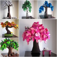 diy-beautiful-felt-trees-for-your-home-f felt tree
