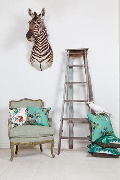 zebra, fenton and fenton, interior, vintage, ladder